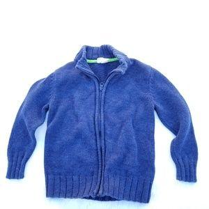 Crazy 8 blue zipper sweater xs (4)